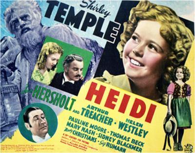 Heidi - Lobby Card Reproduction