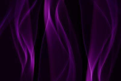 Smoke Shapes in Purple by Heidi Westum