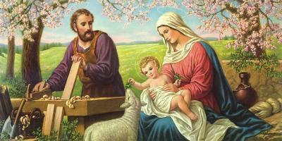 Heilige Familie-Giovanni-Art Print