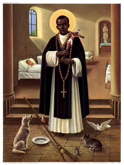 Heilige Martin von Porres--Art Print