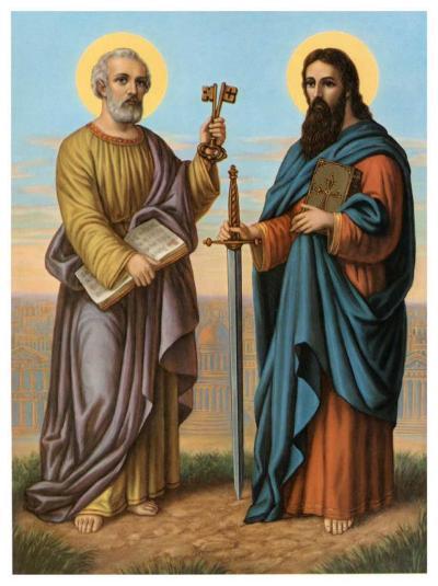 Heilige Peter und Heilige Paul--Art Print