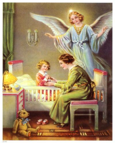 Heilige Schutzengel--Art Print
