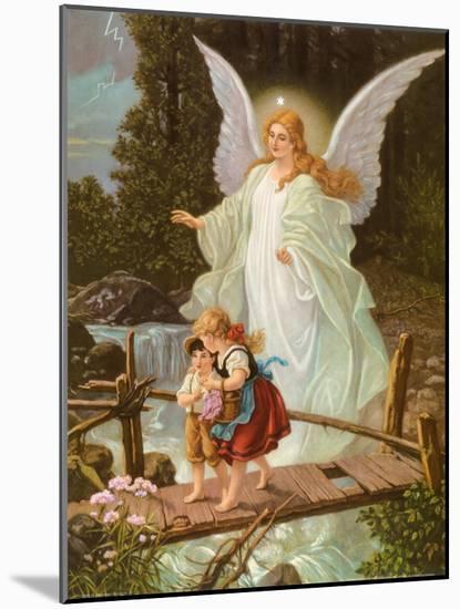 Heilige Schutzengel--Mounted Print