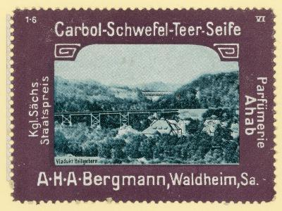 Heiligenborn Viaduct, Saxony, Germany--Giclee Print