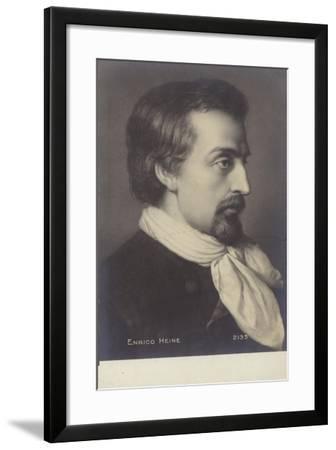 Heinrich Heine--Framed Giclee Print