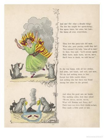 """The Dreadful Story About Harriet and the Matches """"She Burns All Over Everywhere"""""""