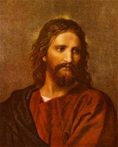 Figure of Christ by Heinrich Hofmann