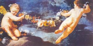 Ghirlanda di Putti by Heinrich Hofmann