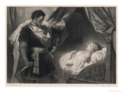 Othello Approaches the Sleeping Desdemona