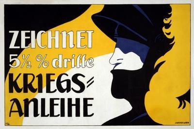 Zeichnet 5 1/2% Dritte Kriegs-Anleihe, Pub. 1917