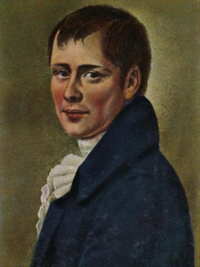 'Heinrich von Kleist 1777-1811. - Gemälde von Graff', 1934-Unknown-Giclee Print