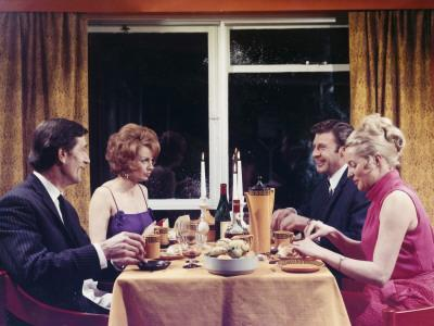 1960s Dinner Party
