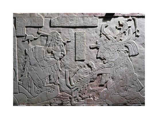 Heir to Throne of Pakal Great--Giclee Print