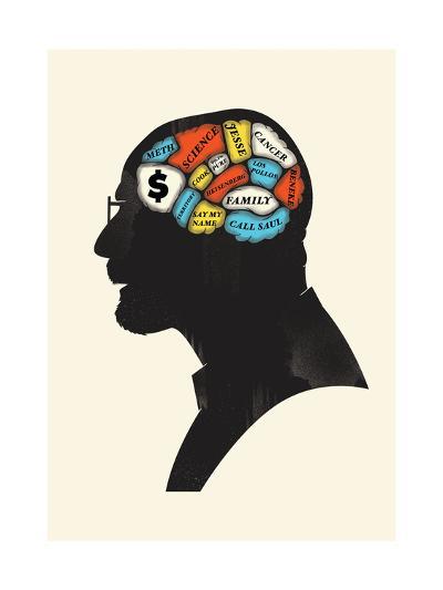 Heisenberg-Chris Wharton-Giclee Print