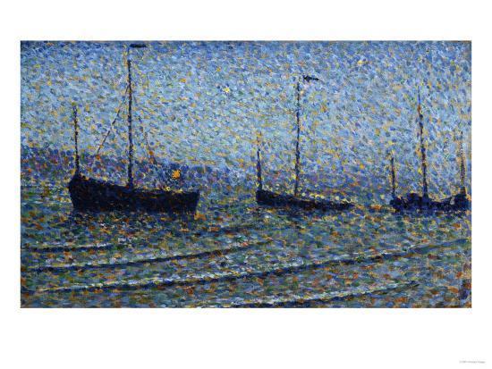 Heist, Belgium, Heyst, Circa 1891-Frederic Edwin Church-Giclee Print