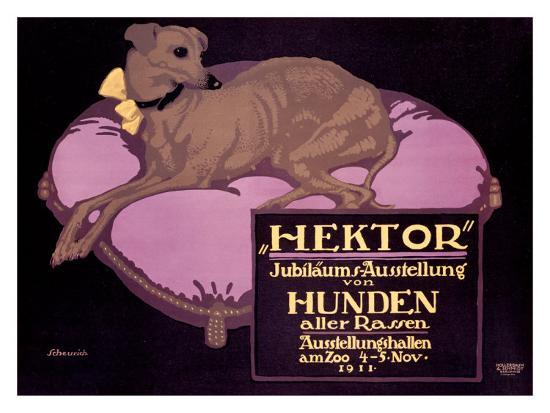 Hektor, Jubilaums-Austellung-Paul Scheurich-Giclee Print