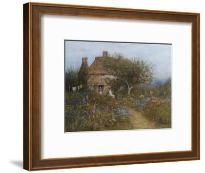 A Cottage Near Brook, Witley, Surrey Helen Allingham 1848-1926