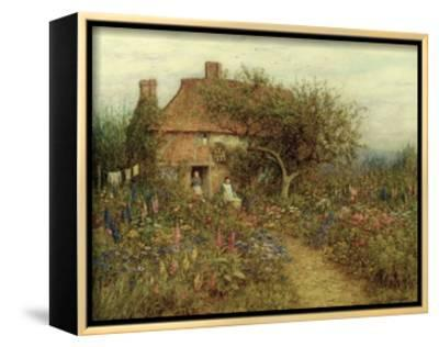 A Cottage Near Brook, Witley, Surrey by Helen Allingham
