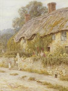 Cottage Near Wells, Somerset by Helen Allingham