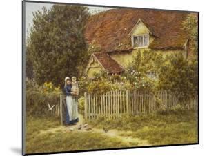 East End Farm, Moss Lane, Pinner by Helen Allingham