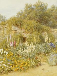Gertrude Jekyll's Garden, Munstead Wood by Helen Allingham