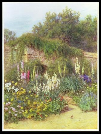 In Munstead Wood Garden, Gertrude Jekyll's Garden, Godalming, Surrey by Helen Allingham