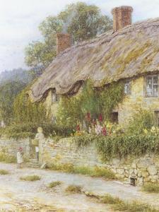 Ivy Cottage by Helen Allingham