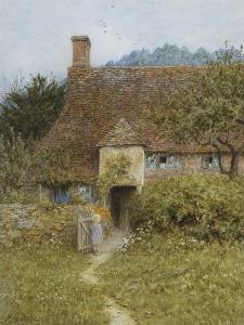 Old Cottage, Witley by Helen Allingham