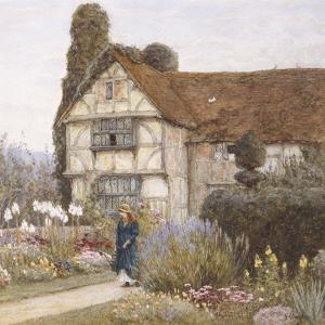 Old Manor House by Helen Allingham