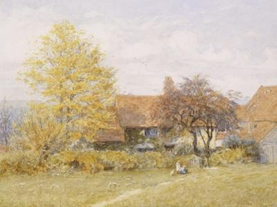 Old Wyldes Farm, Hampstead by Helen Allingham