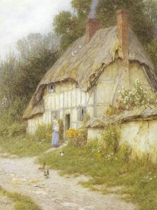 Out for a Walk by Helen Allingham