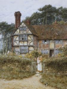 Unstead Farm, Godalming by Helen Allingham