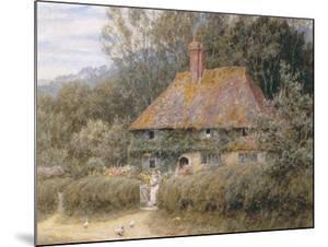 Valewood Farm under Blackwood, Surrey by Helen Allingham