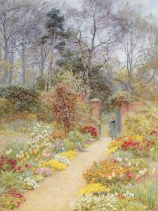 Walled Garden in Springtime by Helen Allingham
