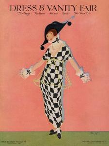 Vanity Fair Cover - November 1913 by Helen Dryden
