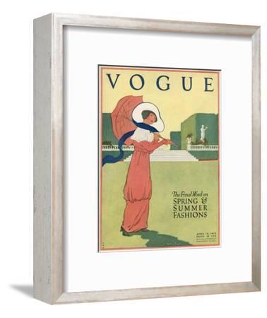Vogue Cover - April 1912