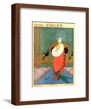 Vogue Cover - January 1918