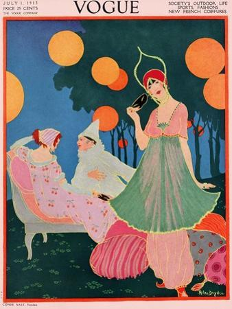 Vogue Cover - July, 1913