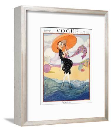 Vogue Cover - July 1919 - Seaside Stroll