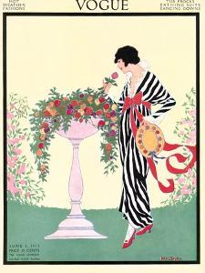 Vogue Cover - June 1913 by Helen Dryden