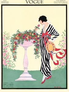 Vogue Cover - June 1913 by Helen Dryden