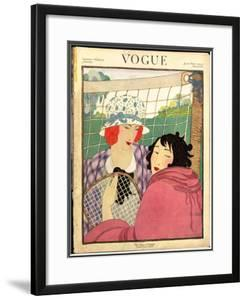 Vogue Cover - June 1920 by Helen Dryden