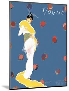Vogue Cover - November 1913 by Helen Dryden