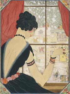 Vogue - December 1920 by Helen Dryden