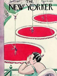 The New Yorker Cover - April 22, 1933 by Helen E. Hokinson