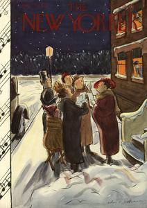 The New Yorker Cover - December 23, 1933 by Helen E. Hokinson