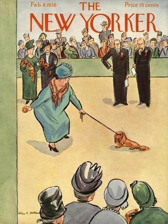 The New Yorker Cover - February 8, 1936