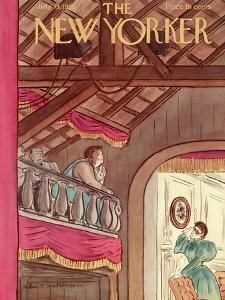 The New Yorker Cover - July 13, 1935 by Helen E. Hokinson