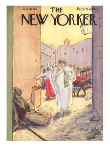 The New Yorker Cover - July 18, 1931 by Helen E. Hokinson