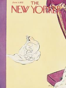 The New Yorker Cover - June 11, 1932 by Helen E. Hokinson